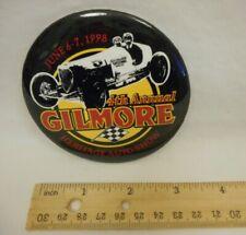 "1998 4th Annual Gilmore Stadium Heritage Auto Show Midget Car Racing 3"" Button"