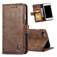 Flip Leather Magnetic Card Wallet Holder Case Cover For Apple iPhone 6 6s 7 Plus
