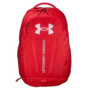 Brand New! Under Armour Hustle 5.0 Backpack Red 600