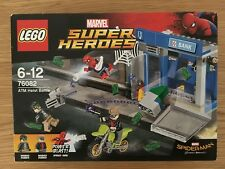 LEGO SUPER HEROES 76082 Spiderman: Homecoming ATM Heist Battle New & Sealed