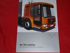 MAN TGA LowEntry für den kommunalen Einsatz Prospekt von 2004