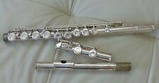 Gemeinhardt Elkhart Ind. M2 1980's Silver Plated Flute