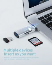 Camera Usb 3.0 Sd Tf Card Reader Kit for Pc, Laptop, Mac, Windows, Linux, Chrome