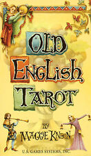 Old English Tarot Deck Cards NEW IN BOX US Games 78 Cards w/ Booklet Medieval