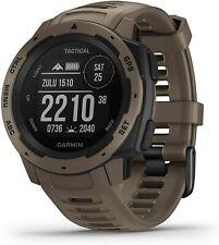 Garmin Watch Instinct Tactical GPS Fitness Location Heart Tan