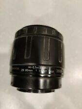 Tamron 28-80MM Lens for Sony Minolta AF SLR DSLR Camera