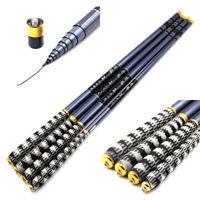 7.2m/22.6ft Carbon Fiber Fishing Rod Telescopic Hand Pole 3.6M-7.2M Tenkara Rod