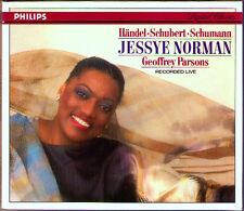 Jessye NORMAN Live 1987 Brahms Handel Schubert Schumann Strauss Spirituals CD