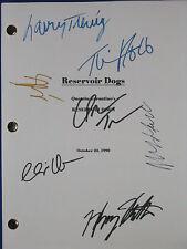 Reservoir Dogs Signed Script X7 Quentin Tarantino Keitel Roth Madsen reprint