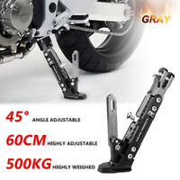 Universal CNC Aluminum Alloy Adjustable Kickstand Foot Side Stand for