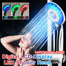3 Color LED Shower Head Digital LCD Display Temperature Control Shower Head !!