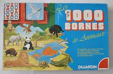 1000 BORNES DES ANIMAUX French Card Game Mille Bornes DUJARDIN WWF