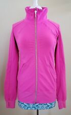 Lululemon Pink Zip Up Jacket Thumbhole - See Measurements