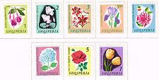 Albania Flora Flowers set 1965 MLH