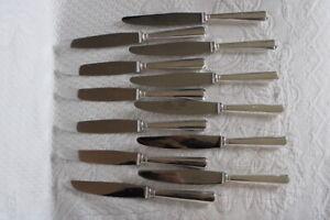 12 grands couteaux christofle model américa bon état