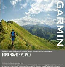 [ORIGINAL] CARTE GARMIN TOPO FRANCE V5 PRO + GUIDE D'INSTALLATION