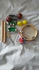 Innocheer Kids 10 Pcs Musical Instruments & Percussion Toy Rhythm Band Set