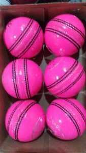 6 x 156 gm 4 Piece Premium Quality Pure LEATHER Senior Cricket Balls High Grade