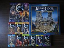 Blue Moon City + 9 expansions + Duelling Card game Fantasy Flight 2006 complete