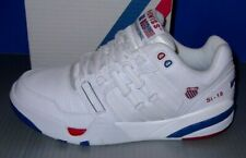 MENS K-SWISS SI-18 INTL HERITAGE in colors WHITE / CLASICBLU /RBNRD SIZE 8