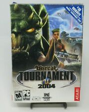 UNREAL TOURNAMENT 2004, 6-DISC PC CD-ROM GAME, ATARI GAMES, WIN 95/XP, COMPLETE