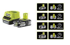 Ryobi ONE+ Akkuset RC18120-115 (18V/1.5Ah) Lithium Ionen Akku +Ladegerät RC18120