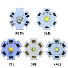 10PCS 3W 5W 10W CREE XML XPE XPG XTE LED RGB High Power LED chip on 20mm PCB