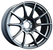 "18"" Staggered SSR GTX01 Silver Wheels 5x4.5 350z 370z G35 Coupe 18x9.5 18x10.5"