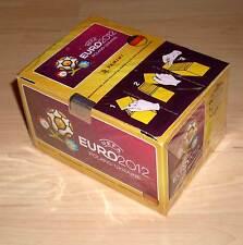 Display 1 Karton Sammelbilder Aufkleber Panini Fussball EM 2012 100 Tütchen