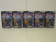 Brand New 2004 Bandai Saint Seiya Knights of the Zodiac Figure Black Set of 5