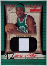 2004-05 Fleer Throwbacks Gold TONY ALLEN Jersey RC Rare SP Celtics #/25