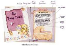 My Baby Book  © Best   (Personalized Baby Book), FREE FAST SHIP! GREAT KEEPSAKE