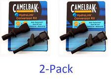 NEW - 2 Pack Camelbak Hydrolink Conversion Kit Bite Valve Hydrolock Backpack