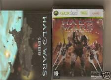 Halo Wars steelboook Xbox 360/X BOX 360 Limited Steel TIN + Karten + Buch