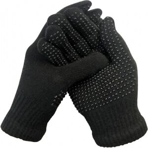 Pair of Childrens Kids Boys Girls Magic Super Stretch Gripper Thermal Gloves NEW