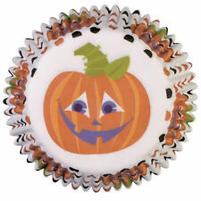 Polka Dot Pumpkin Hallaoween Cupcake Mini Baking Cups 100 ct from Wilton #1271