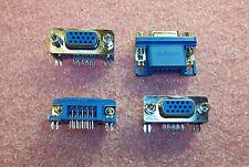 QTY (20)  1-1734347-2 TYCO 15 POSITION R/A HIGH DENSITY DSUB DB15 HD22 ROHS