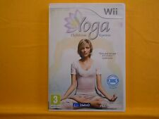 wii YOGA The First 100% Experience Balance Board Compatible Game Nintendo PAL UK