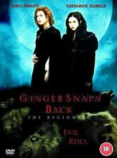 GINGER SNAPS BACK - The Beginning (DVD-2005,1Disc) Region 2. EVIL RISES!!!!*****