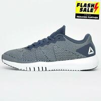 Reebok Flexagon Mens Cross Training Fitness Workout Gym Trainers Navy