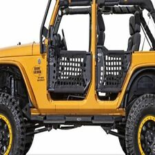BODY ARMOR TJ-6137 GEN 2 Front Trail Doors w/ Nylon Web For 97-06 Jeep TJ