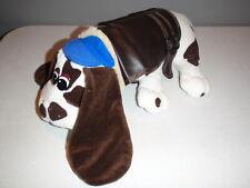 Vintage Irwin Pound Puppies Puppy Brown White Large Plush 1984 Spots Dog