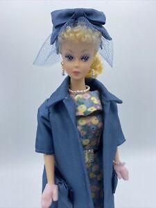 OOAK Vintage Reproduction Barbie Lemon Blonde Ponytail W/Ooak Easter Parade