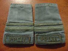 PPCLI Princess Patricia's Canadian Light Infantry LIEUTENANT OD combat slip ons
