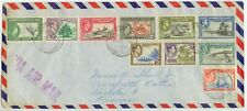 1956 Gilbert & Ellice Islands multi-issue cover
