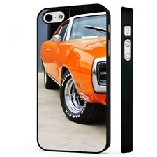 Muscle Car Dodge Charger Mustang BLACK PHONE CASE COVER fits iPHONE