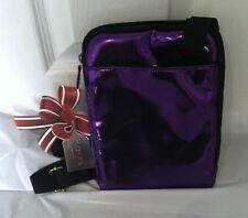 Brand New Rolfs Purple e Reader Case Faux Leather Zip Closure cross body bag