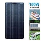 150w flexible Solar Panel For Car Battery/Boat/Camping/RV/Power station/Charger