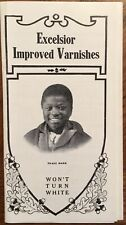 Advertising Booklet for Excelsior Varnish 261 Broadway, New York Products/Prices