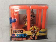 Vintage Digimon Etemon Mini Figure in Cage - NEW